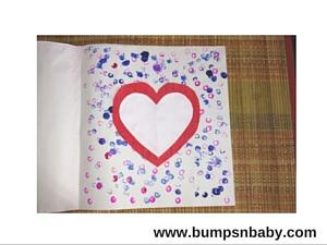 Handmade Card Diy Valentine S Day Craft For Toddlers Paperblog