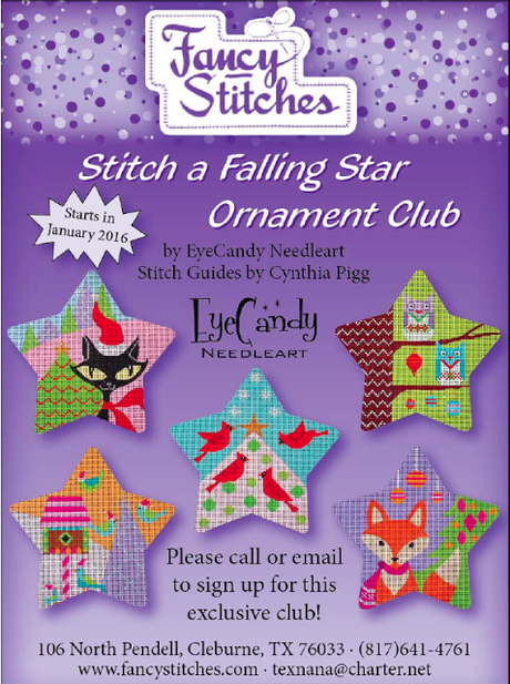 New Online Group For Stitch a Falling Star!