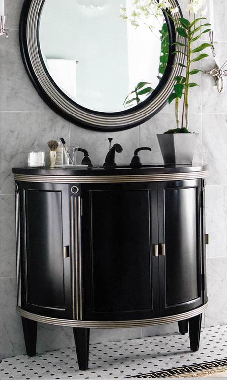 round mirrors bathroom design trends 2016