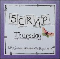 Sketches in Thyme - February 2016 & Scrap Thursday 24
