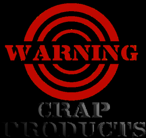 CRAP PRODUCT (DON'T WASTE YOUR MONEY)
