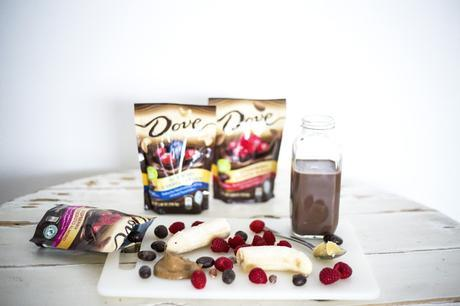 Chocolate Covered Raspberry Smoothie Recipe