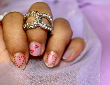 Hearty Valentine's Day Nail Art: Tips & Toes