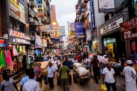 One of the busy market streets near Colombo Fort station. I will fish for some sympathy here and tell you a story of how I tripped later on this evening and nearly broke my arm! Photography is dangerous!