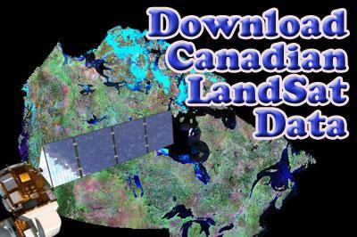 Download Canadian LandSat 7 Images