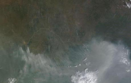 Major Wildfire Outbreak Central Africa