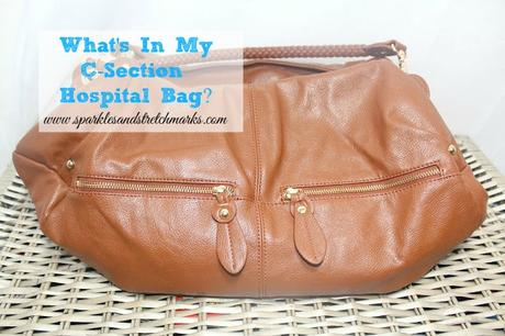What's In My C-Section Hospital Bag?
