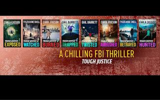 Tough Justice 5-8: Twisted by Gail Barrett + Ambused by Carol Ericson + Betrayed by Tyler Anne Snell + Hunted by Carla Cassidy