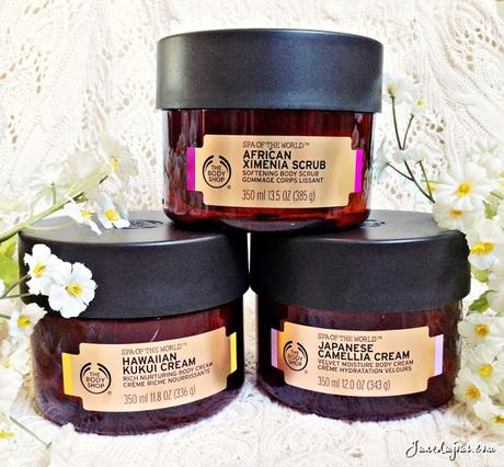 Head-to-Toe Pampering with The Body Shop Spa of the World range!