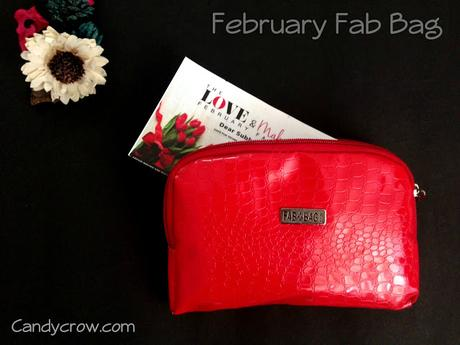 February 2016 Fab Bag Review
