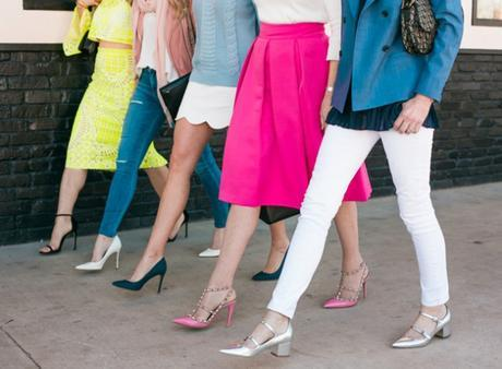 dallas bloggers, spring trends 2016, spring outfits, must have heels of spring