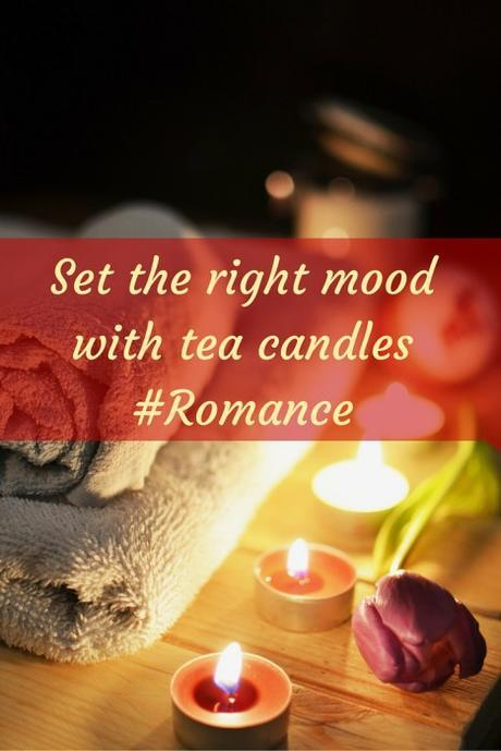 Set the right mood with Tea Candles