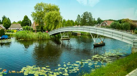Canals of the lowlands, The Netherlands.