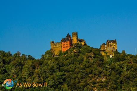 Castle along the Rhine River.