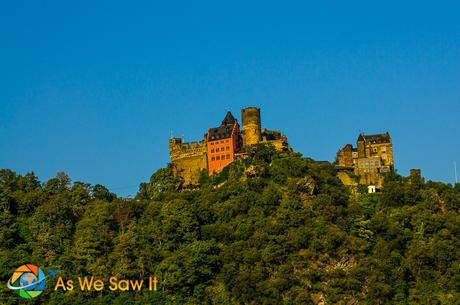 Castle along the Rhine River.