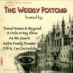 As We Saw It travel blog link exchange #TheWeeklyPostcard icon