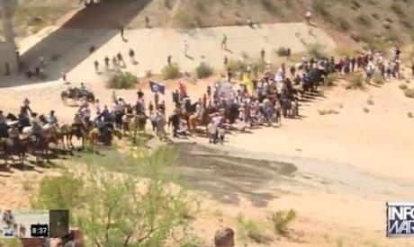 Bundy militia vs. the federal government's BLM