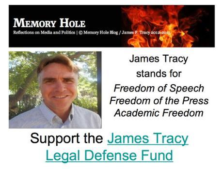 Support the James Tracy Legal Defense Fund