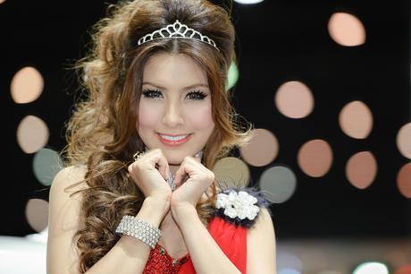 Light skin Thai girl