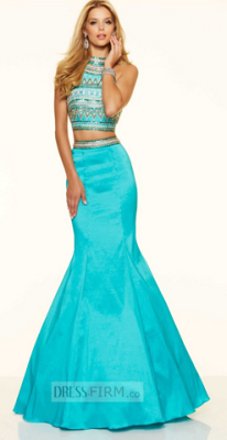 Sea themed prom dresses