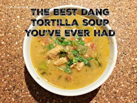 The Best Tortilla Soup Ever