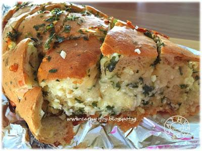 Garlic & Cheese Pull Apart Bread