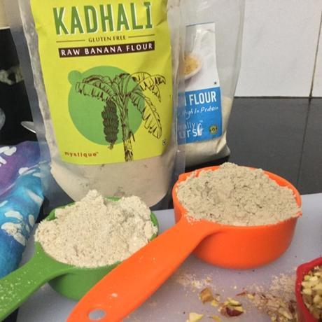 Kadhali Cookies -Gluten Free Satvik Delight Raw Banana Flour andAmaranth Cookie
