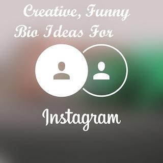 350+ Creative & Funny Instagram Bio Ideas