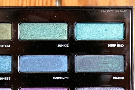 Urban Decay Urban Spectrum Palette Review and Swatches