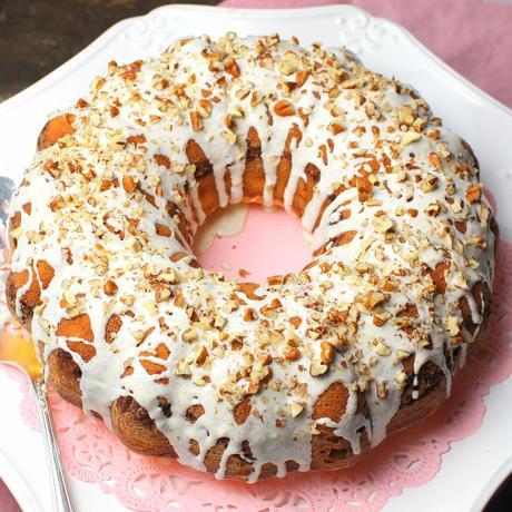 Cinnamon Swirl Bundt Cake With Yellow Cake Mix