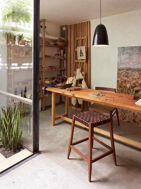 Captivating One Of A Kind Furniture Fills This Delightfully Serene Buenos Aires Home