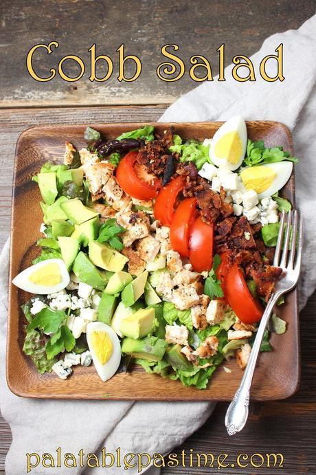 Cobb Salad for #SundaySupper