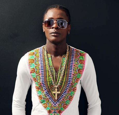 Singer Dr Jose Chameleone wearing Swahili shirt