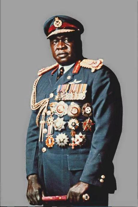 former Ugandan President Idi Amin Dada