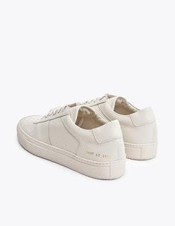 Casually Finer:  Common Projects B-ball Low Beige Sneakers