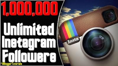 How to Get UNLIMITED Instagram Followers for FREE and Without following others!