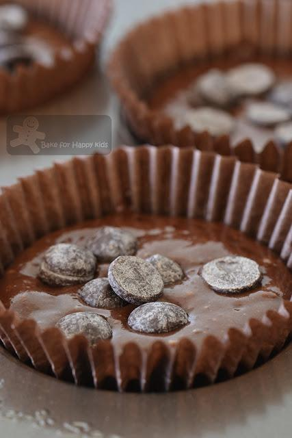Easy Mix and Bake Double Chocolate Mayonnaise Muffin Cakes