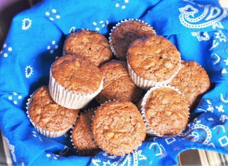 Carrot Muffins for Muffin Monday