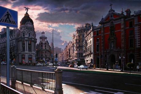 photorealism - Modesto Trigo Trigo - amazing cityscapes