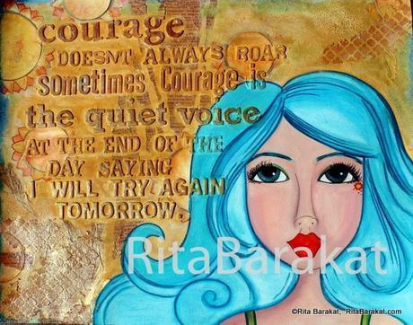 Artist Crush March 2016 Rita Barakat