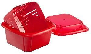 Image: Hutzler 3-in-1 Berry Box, Red