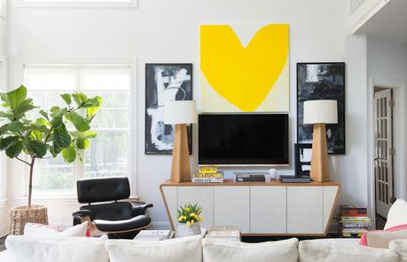 House Tour!  An artist's super cool Connecticut home