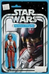 Star Wars: Poe Dameron #1 Cover - Christopher Action Figure Variant