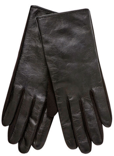 Seed Heritage Spliced Leather Gloves. $49.95