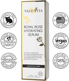 Discover the Valentia's New Royal Rose Hydrating Serum