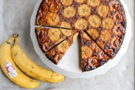 Paleo Banana Upside Down Cake