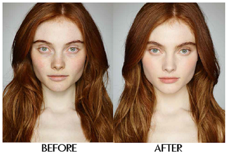 Charlotte Tilbury perfect skin day with Magic Foundation