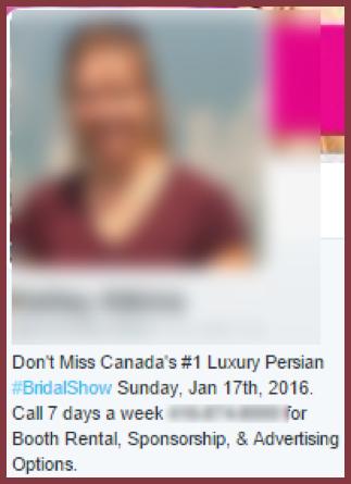 Relationship marketing: fake profile duplication
