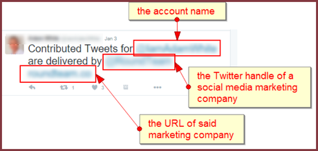 Relationship marketing: real fake tweets