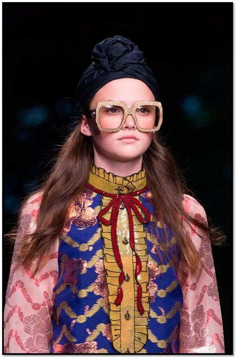 Retro Style Oversized Eye Glasses